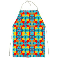 Pop Art Abstract Design Pattern Full Print Aprons