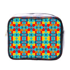 Pop Art Abstract Design Pattern Mini Toiletries Bags
