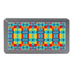 Pop Art Abstract Design Pattern Memory Card Reader (Mini)