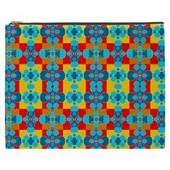 Pop Art Abstract Design Pattern Cosmetic Bag (XXXL)