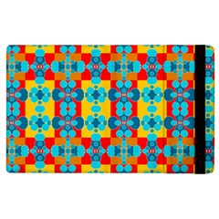 Pop Art Abstract Design Pattern Apple iPad 3/4 Flip Case