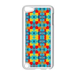 Pop Art Abstract Design Pattern Apple iPod Touch 5 Case (White)