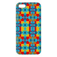 Pop Art Abstract Design Pattern Apple Iphone 5 Premium Hardshell Case