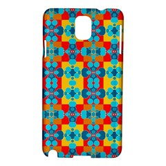 Pop Art Abstract Design Pattern Samsung Galaxy Note 3 N9005 Hardshell Case