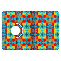 Pop Art Abstract Design Pattern Kindle Fire HDX Flip 360 Case