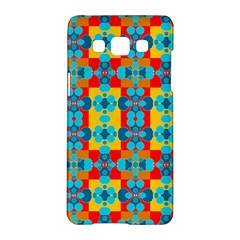 Pop Art Abstract Design Pattern Samsung Galaxy A5 Hardshell Case