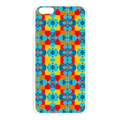 Pop Art Abstract Design Pattern Apple Seamless iPhone 6 Plus/6S Plus Case (Transparent)