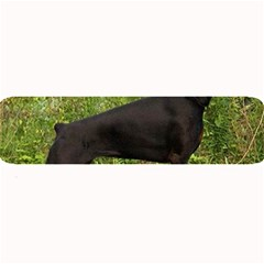 Doberman Pinscher Black Full Large Bar Mats