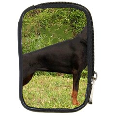 Doberman Pinscher Black Full Compact Camera Cases
