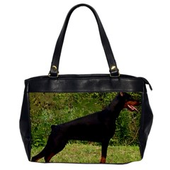 Doberman Pinscher Black Full Office Handbags