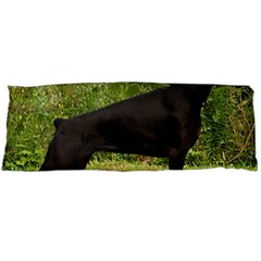 Doberman Pinscher Black Full Body Pillow Case (Dakimakura)