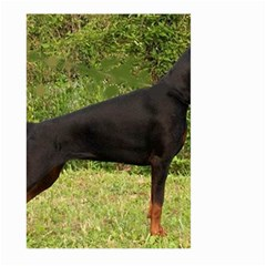 Doberman Pinscher Black Full Large Garden Flag (Two Sides)