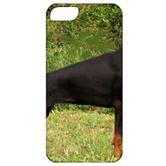 Doberman Pinscher Black Full Apple iPhone 5 Classic Hardshell Case