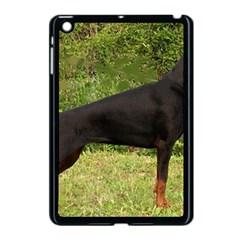 Doberman Pinscher Black Full Apple iPad Mini Case (Black)