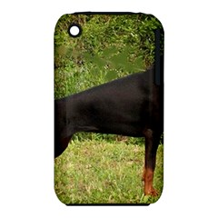 Doberman Pinscher Black Full iPhone 3S/3GS