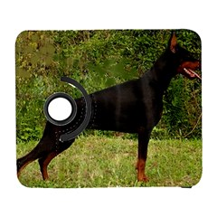 Doberman Pinscher Black Full Galaxy S3 (Flip/Folio)
