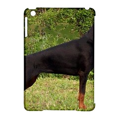 Doberman Pinscher Black Full Apple iPad Mini Hardshell Case (Compatible with Smart Cover)