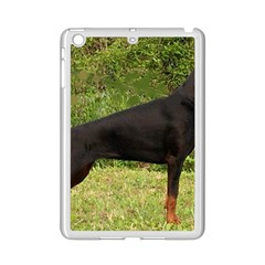 Doberman Pinscher Black Full iPad Mini 2 Enamel Coated Cases
