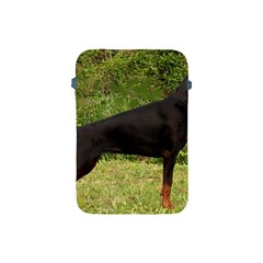Doberman Pinscher Black Full Apple iPad Mini Protective Soft Cases