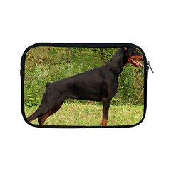 Doberman Pinscher Black Full Apple iPad Mini Zipper Cases