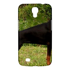 Doberman Pinscher Black Full Samsung Galaxy Mega 6.3  I9200 Hardshell Case
