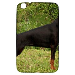Doberman Pinscher Black Full Samsung Galaxy Tab 3 (8 ) T3100 Hardshell Case