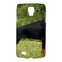 Doberman Pinscher Black Full Galaxy S4 Active