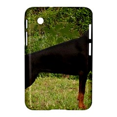 Doberman Pinscher Black Full Samsung Galaxy Tab 2 (7 ) P3100 Hardshell Case