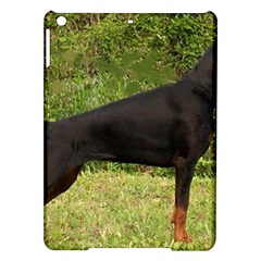 Doberman Pinscher Black Full iPad Air Hardshell Cases