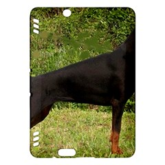 Doberman Pinscher Black Full Kindle Fire HDX Hardshell Case