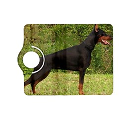 Doberman Pinscher Black Full Kindle Fire HD (2013) Flip 360 Case