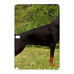 Doberman Pinscher Black Full Samsung Galaxy Tab Pro 10.1 Hardshell Case