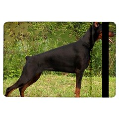 Doberman Pinscher Black Full iPad Air Flip