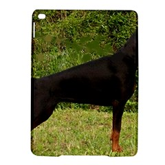 Doberman Pinscher Black Full iPad Air 2 Hardshell Cases