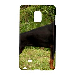 Doberman Pinscher Black Full Galaxy Note Edge