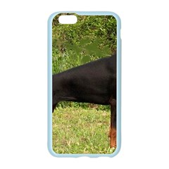Doberman Pinscher Black Full Apple Seamless iPhone 6/6S Case (Color)
