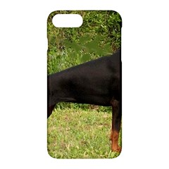 Doberman Pinscher Black Full Apple iPhone 7 Plus Hardshell Case