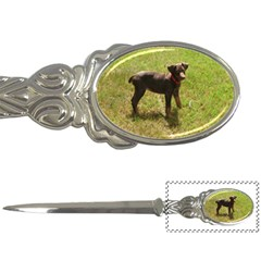 Red Doberman Puppy Letter Openers