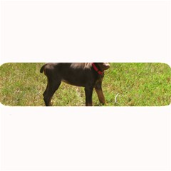 Red Doberman Puppy Large Bar Mats