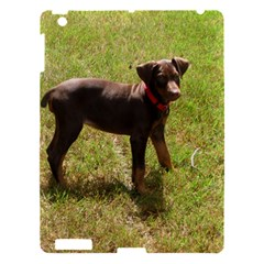 Red Doberman Puppy Apple iPad 3/4 Hardshell Case