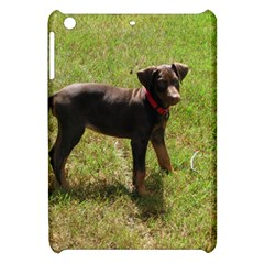 Red Doberman Puppy Apple iPad Mini Hardshell Case
