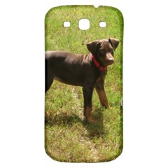 Red Doberman Puppy Samsung Galaxy S3 S III Classic Hardshell Back Case
