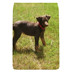 Red Doberman Puppy Flap Covers (S)