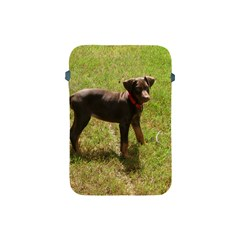 Red Doberman Puppy Apple iPad Mini Protective Soft Cases
