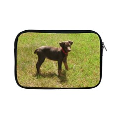 Red Doberman Puppy Apple iPad Mini Zipper Cases