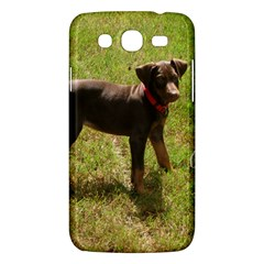 Red Doberman Puppy Samsung Galaxy Mega 5.8 I9152 Hardshell Case