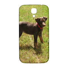 Red Doberman Puppy Samsung Galaxy S4 I9500/I9505  Hardshell Back Case