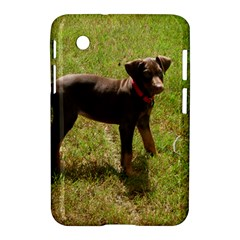 Red Doberman Puppy Samsung Galaxy Tab 2 (7 ) P3100 Hardshell Case