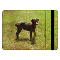 Red Doberman Puppy Samsung Galaxy Tab Pro 12.2  Flip Case