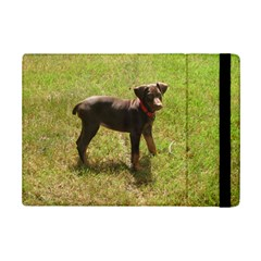 Red Doberman Puppy iPad Mini 2 Flip Cases